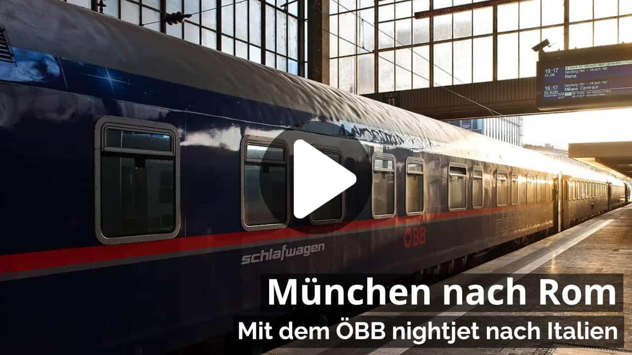 Video Nachtzug München nach Rom
