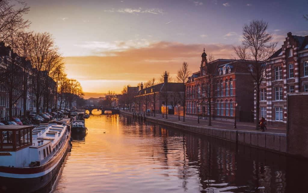 Nachtzug nach Amsterdam
